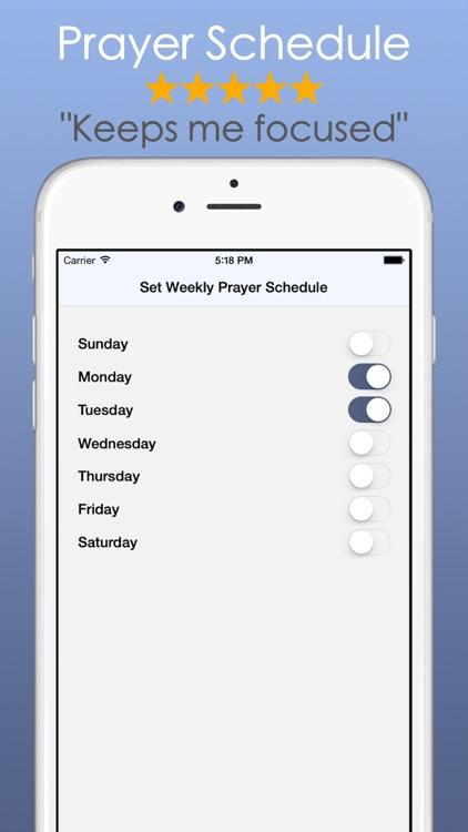 Prayer Notes: Journal List App screenshot-3