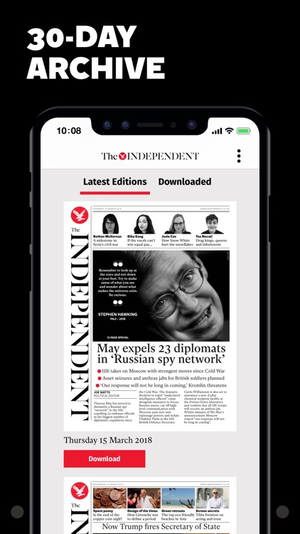 The Independent Daily Edition screenshot-3