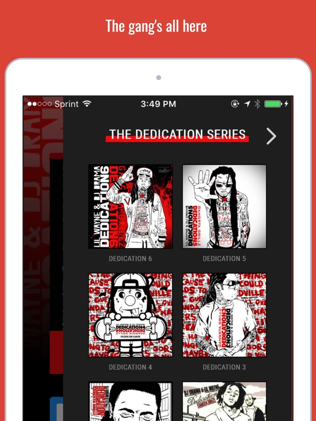 Dedication By Lil Wayne On The App Store