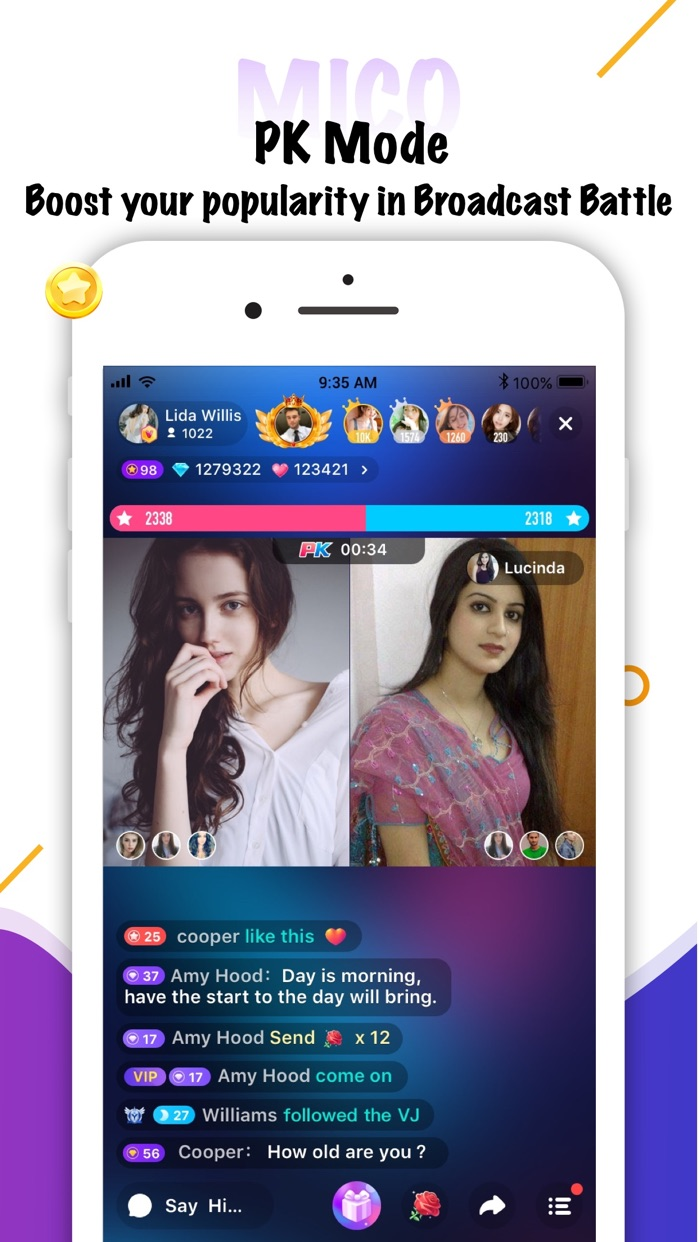 Mico Chat - Video & Live Chat Screenshot