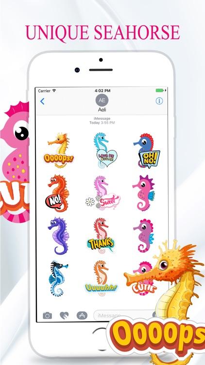 Seahorse Stickers