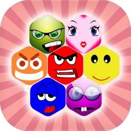 Emoji Blitz : Make Hexa 5 & 7