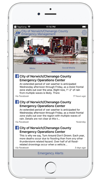 Norwich/Chenango Emerg O.C. screenshot three
