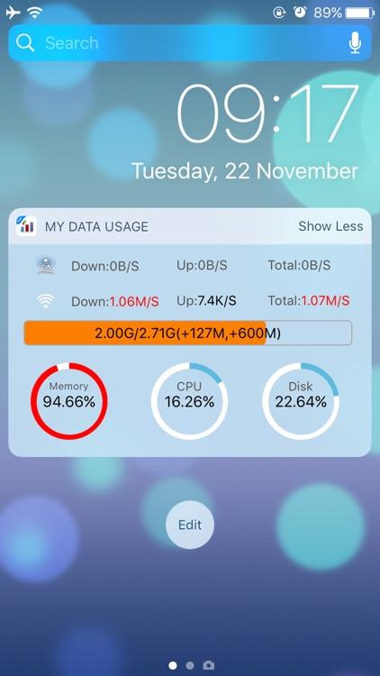 My Data Usage Widget Pro screenshot-3