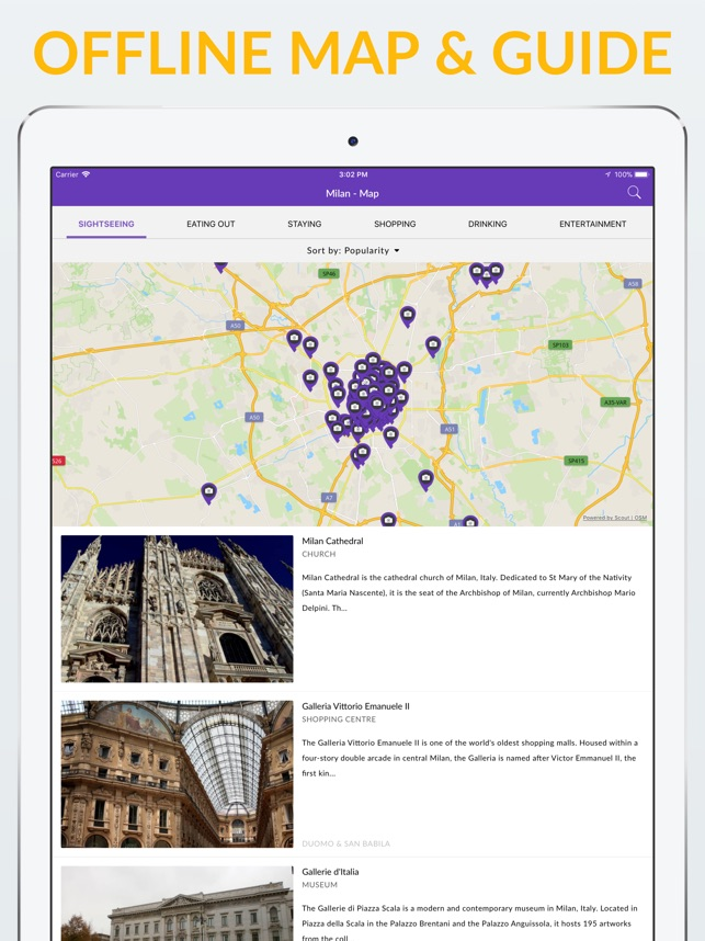Milan Offline Map Guide on the App Store