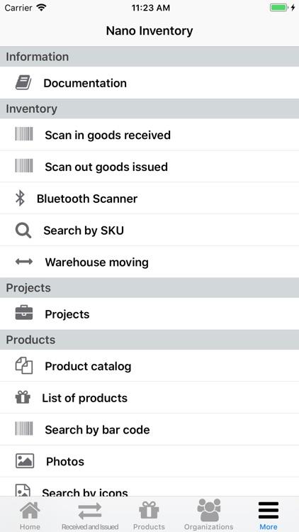 Nano Inventory screenshot-5