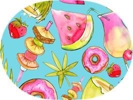 California Summer Stickers