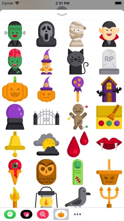The Halloween Sticker Pack