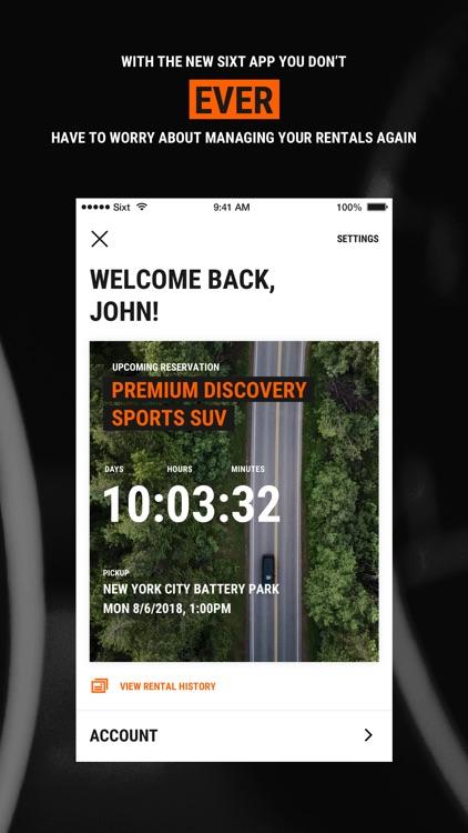 Sixt - Rent a Car screenshot-3