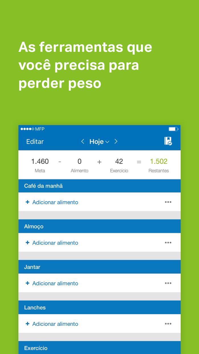 MyFitnessPal Screenshot