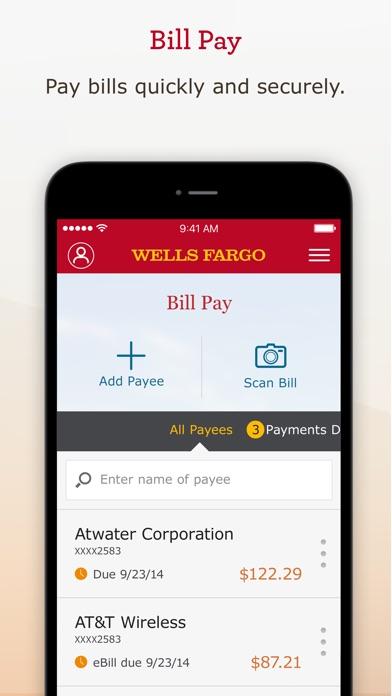 Wells Fargo Mobile iPhone