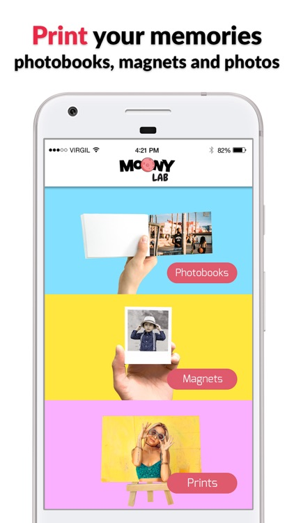 Moony Lab - print your photos