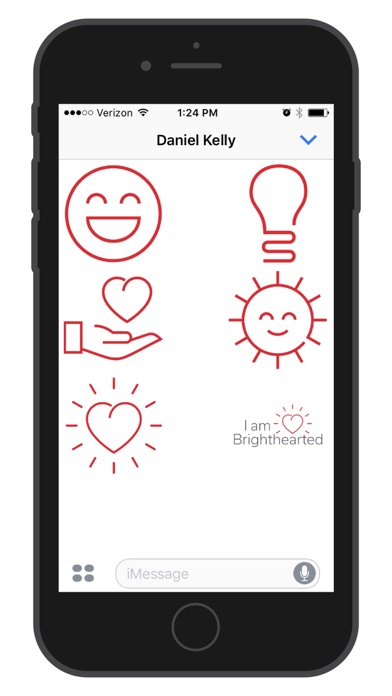 Brighthearted Stickers Screenshot