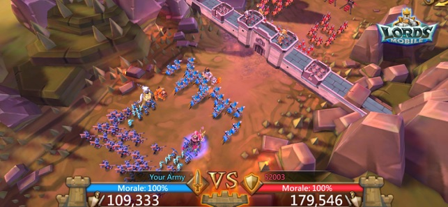 Lords Mobile: Battle of the Empires con ilimitado puntos