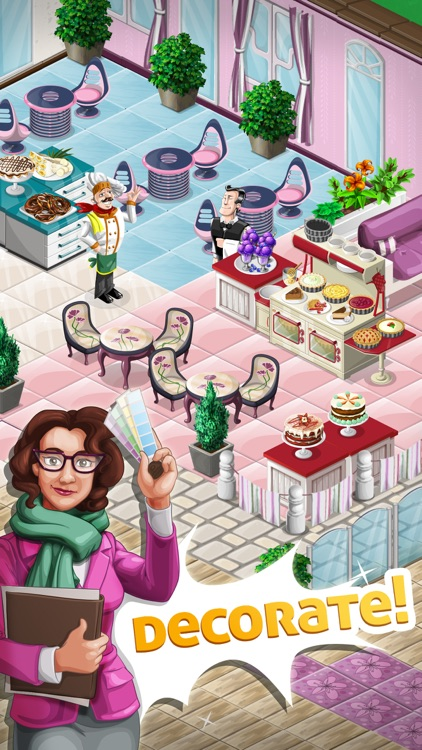 Chef Town: Cooking & Restaurant Simulation screenshot-4