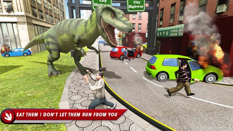 Dinosaur Simulator City Hunter screenshot-4