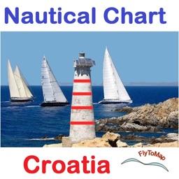 Boating Croatia Nautical Chart