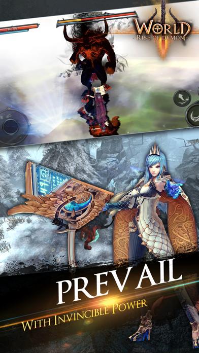 Screenshot from The World 3