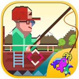 Mr. Man 8 Adventure - Splashy Bit Fishing 3D Game