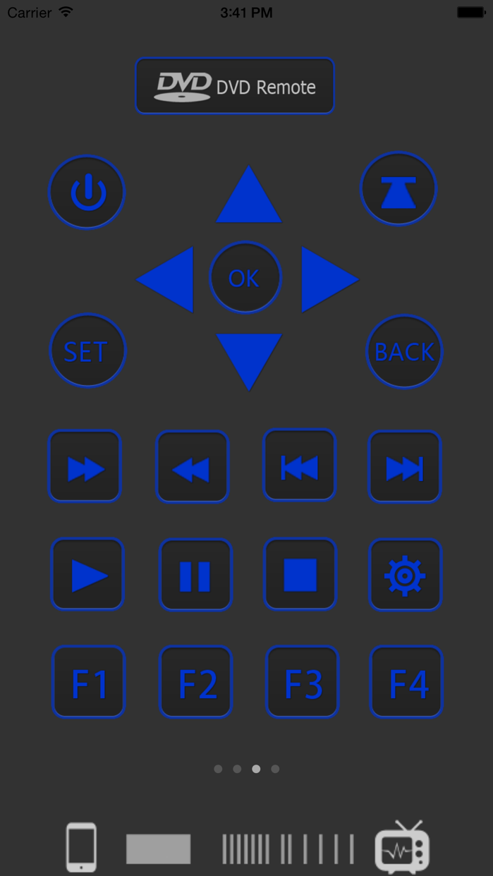 Universal Remote Screenshot