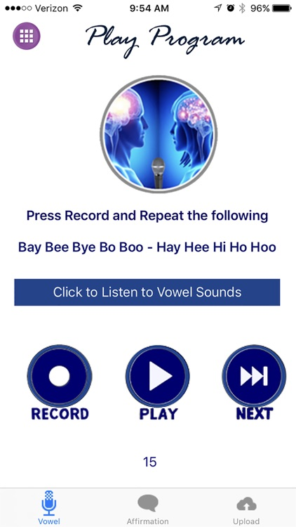 CLOUD SOUND THERAPY VOICE CODE