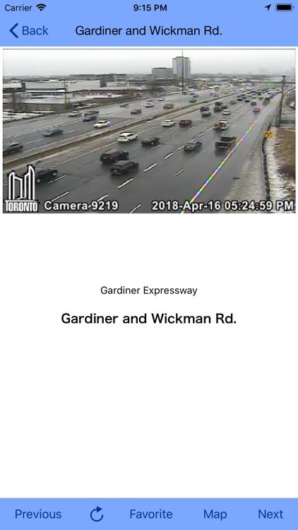 Toronto Traffic Cam screenshot-9