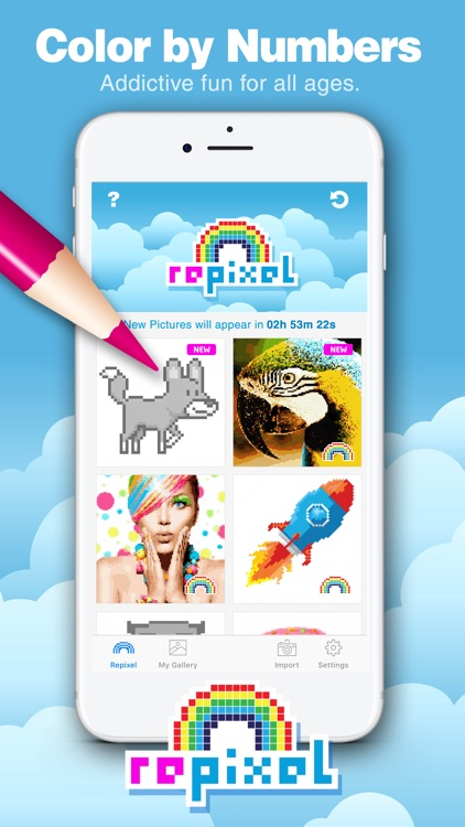 RePixel - Color By Number Game