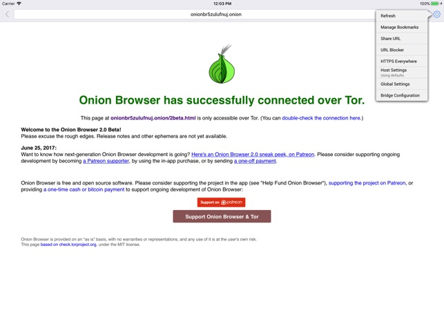 tor browser apple