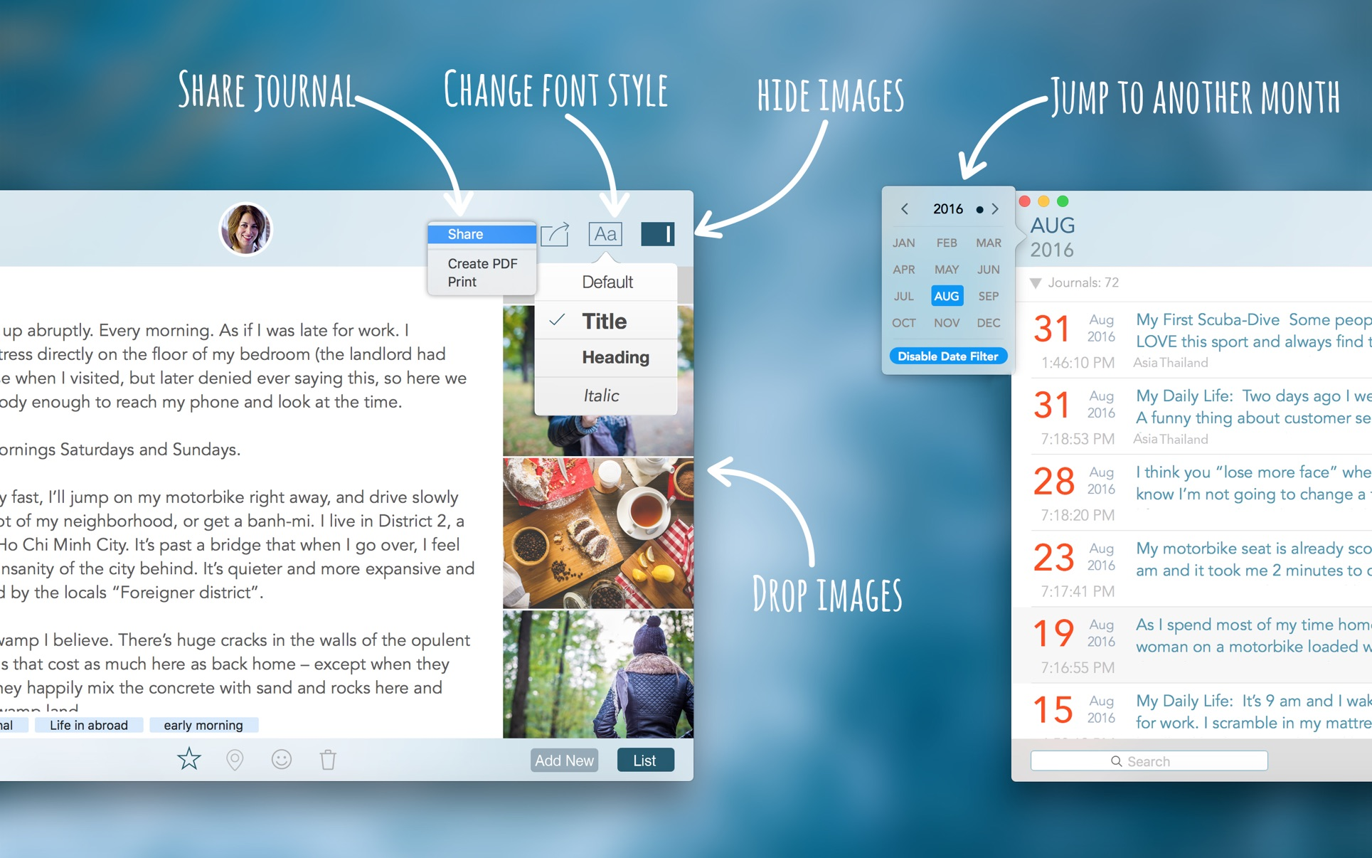 Daily Journal on the Mac App Store
