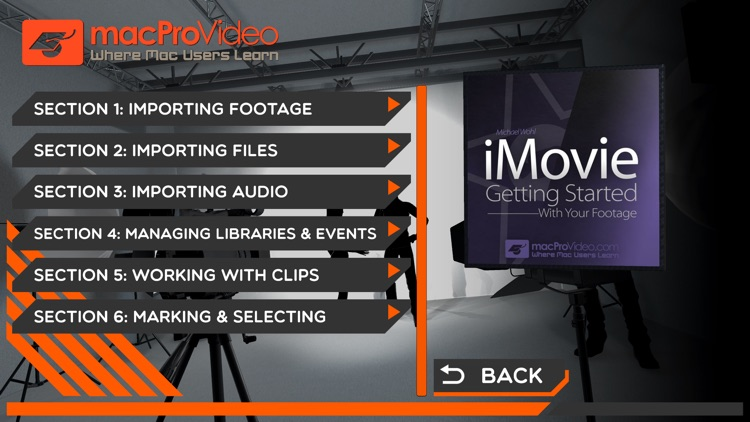 Footage Course For iMovie