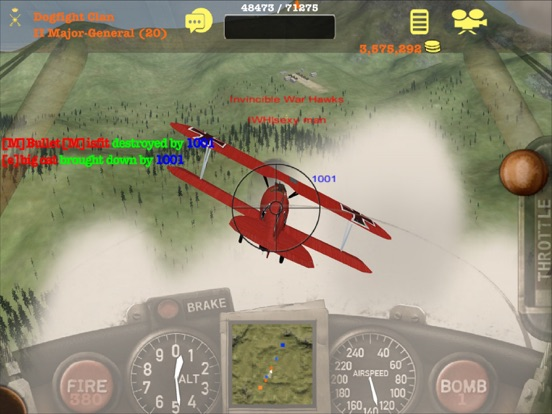 Screenshot #4 pour Dogfight Elite