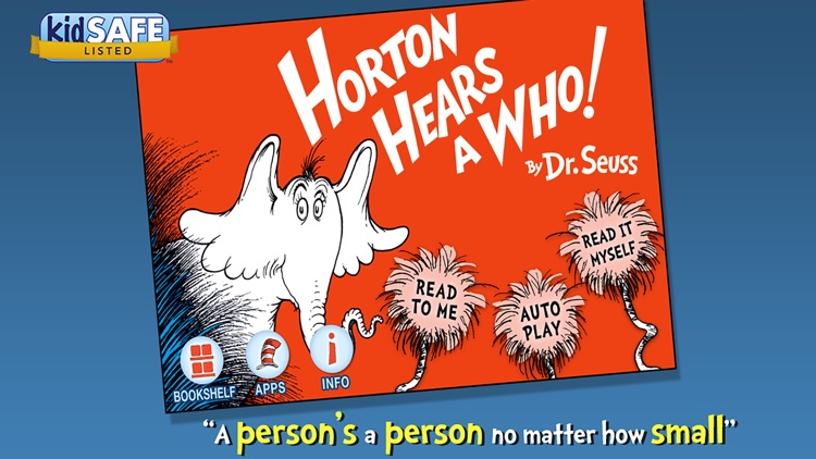 Horton Hears a Who! - Dr. Seuss screenshot-0