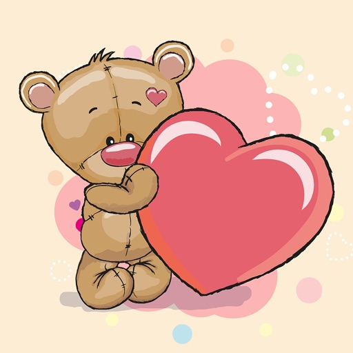 Teddy Bear for Kids Stickers