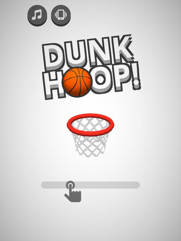 Игра Dunk Hoop