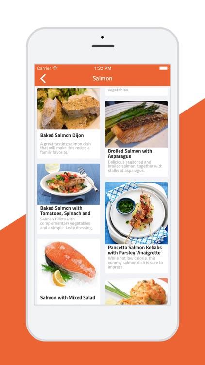 Easy Fish - Healthy sea foods screenshot-3