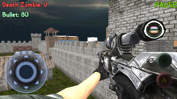 Sniper: Zombie Hunter Missions screenshot-1