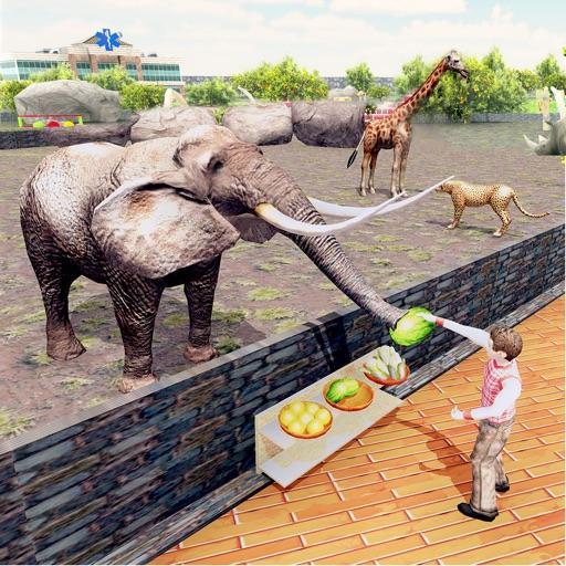 Virtual Family Zoo Simulator iOS App
