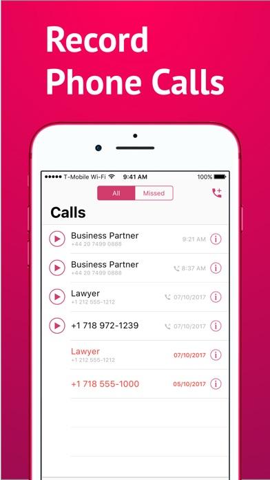 Keku Calls Recording review screenshots