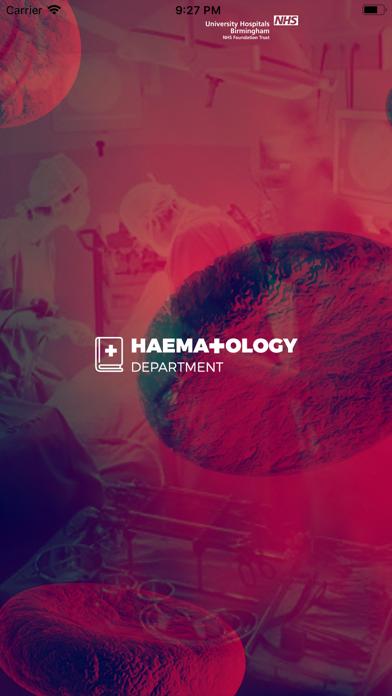 Haematology Handbook screenshot one