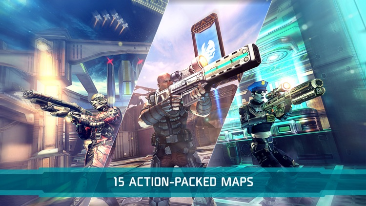 Shadowgun DeadZone PvP Battles screenshot-3