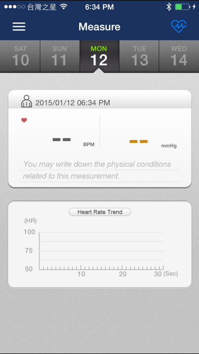 iBP Monitor screenshot one