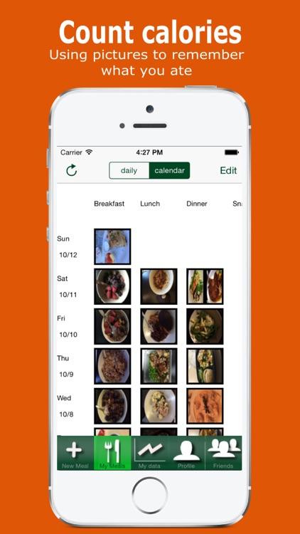 Yumget visual photo food diary screenshot-3