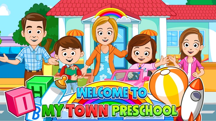 My Town : Preschool screenshot-0