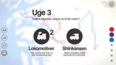 Screenshot for Mini Metro in Denmark App Store