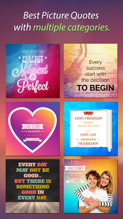 Picture Quotes & Sayings Pro screenshot-0