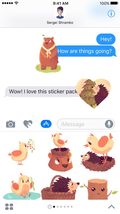 In The Woods - Animated Stickers screenshot-3