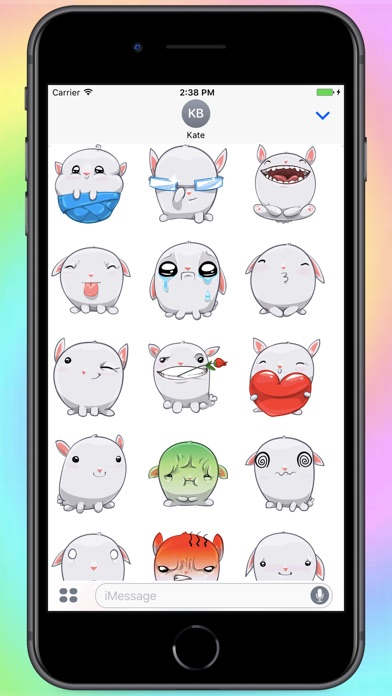 Screenshot for Fatty Bun Stickers in United Arab Emirates App Store