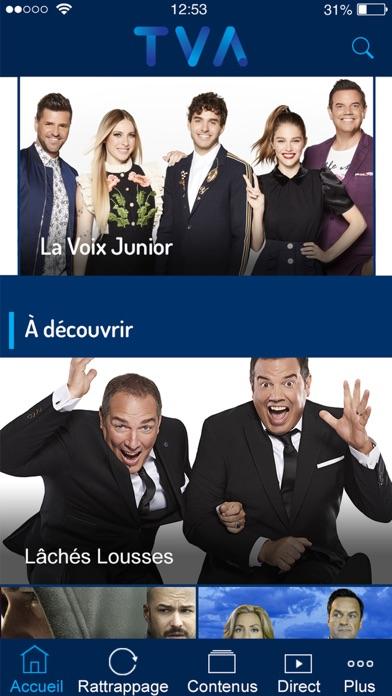 Screenshot for TVA - Mobile in Canada App Store