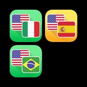 Italian, Spanish and Portuguese Language Translator Bundle