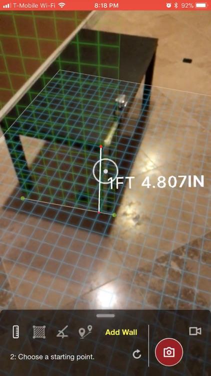 AR Tape Measure: Air Measure